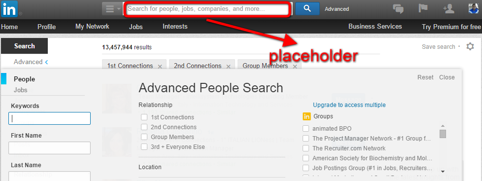 how to create a search box in a website