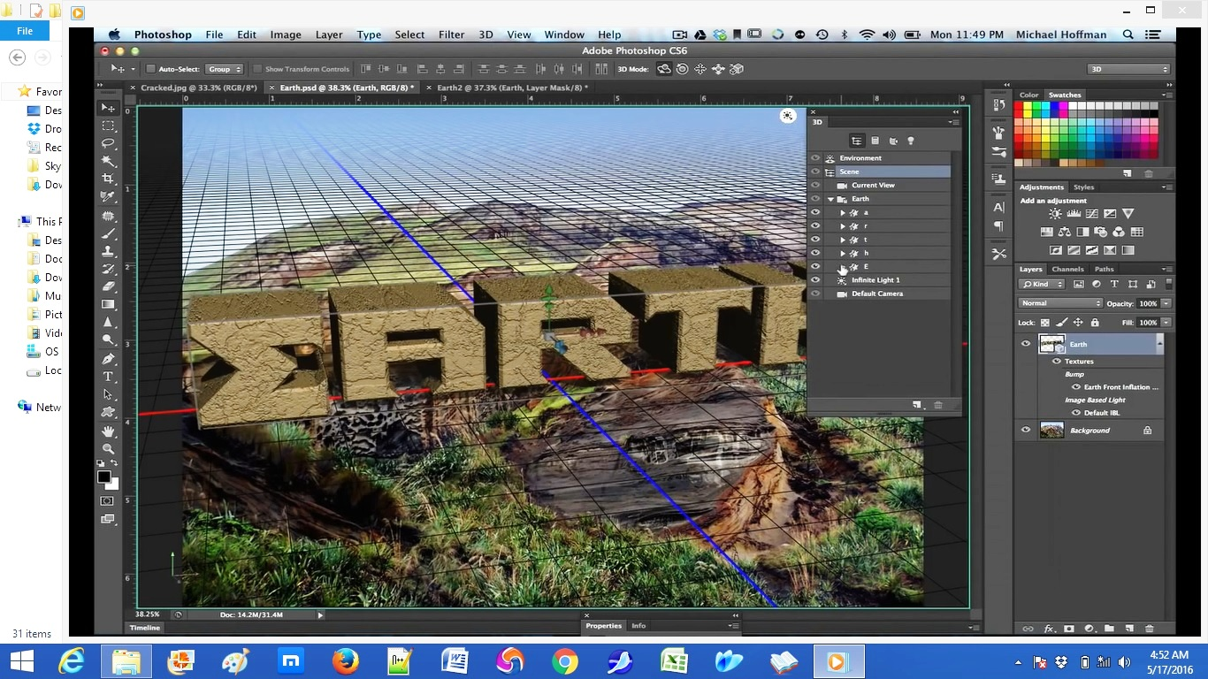 photoshop 3D graphics