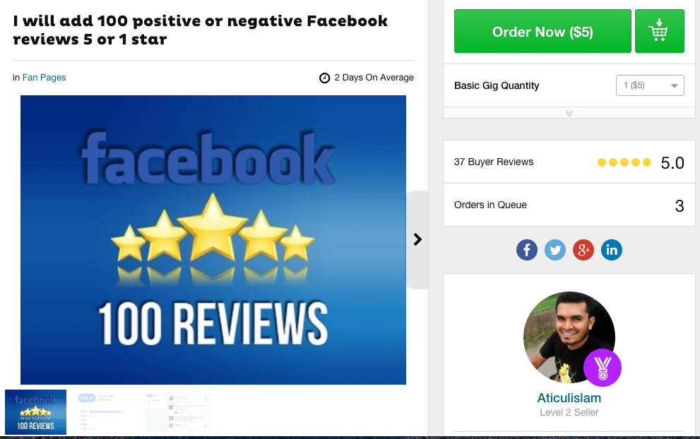 How To Buy Fiverr Reviews