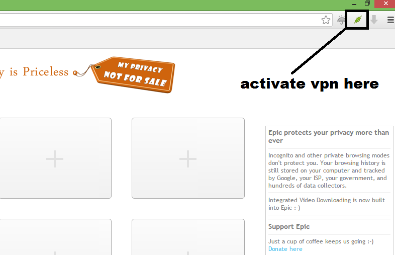 Create Foreign Fiverr Account with epic browser