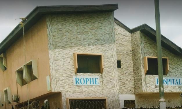 Phone Number of Rophe Hospital Agbara