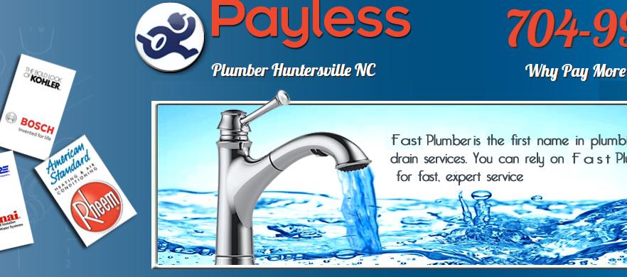 Payless Plumber Huntersville NC