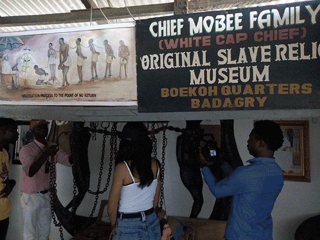 badagry slave museum