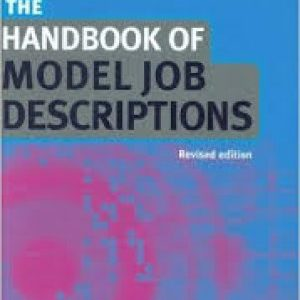Handbook Of Model Job Description