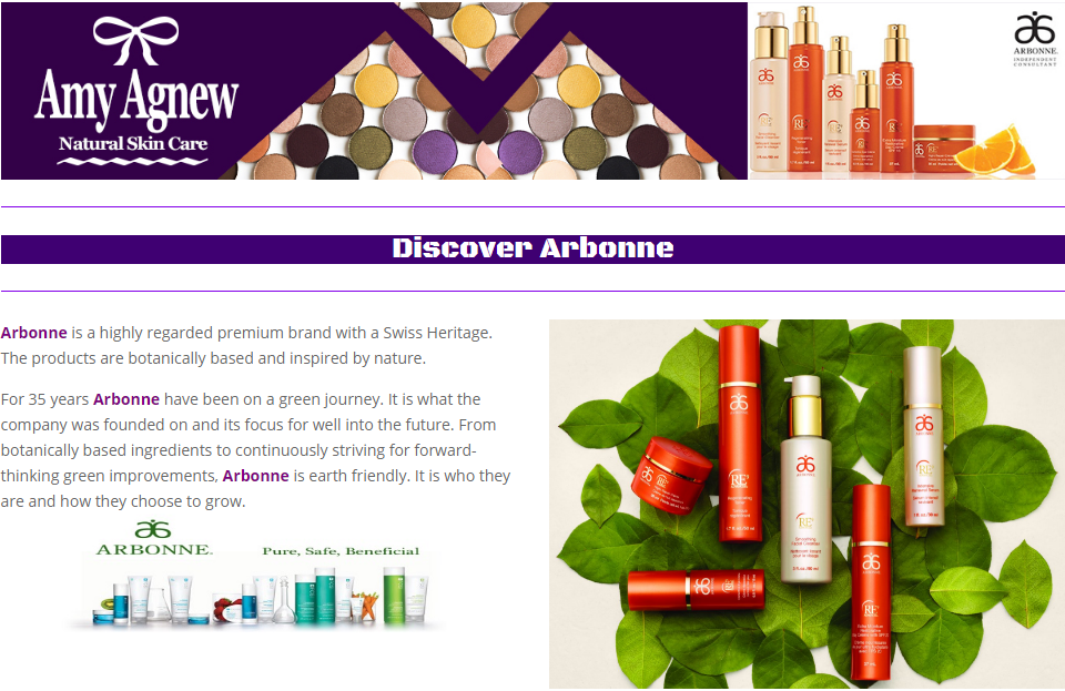 discover arbonne pack