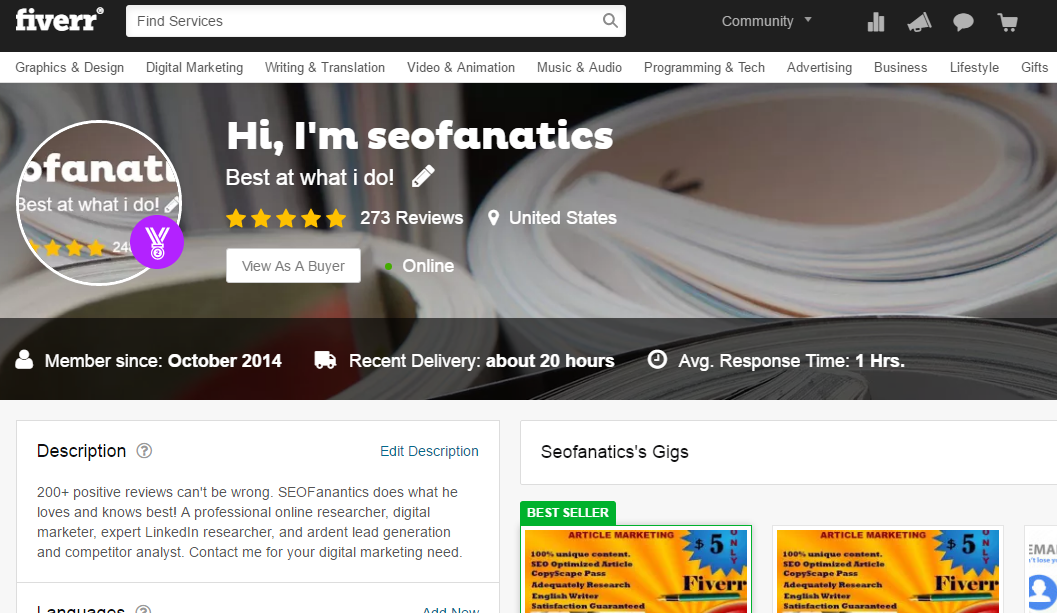 5 Latest Fiverr Features for Buyers and Sellers