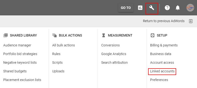 link youtube channel with adwords