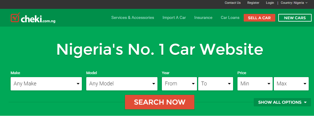 How To Sell Cars Online In Nigeria
