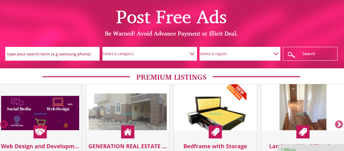 classified ad websites in nigeria