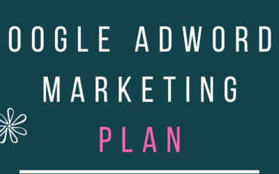 Google AdWords Plan Template