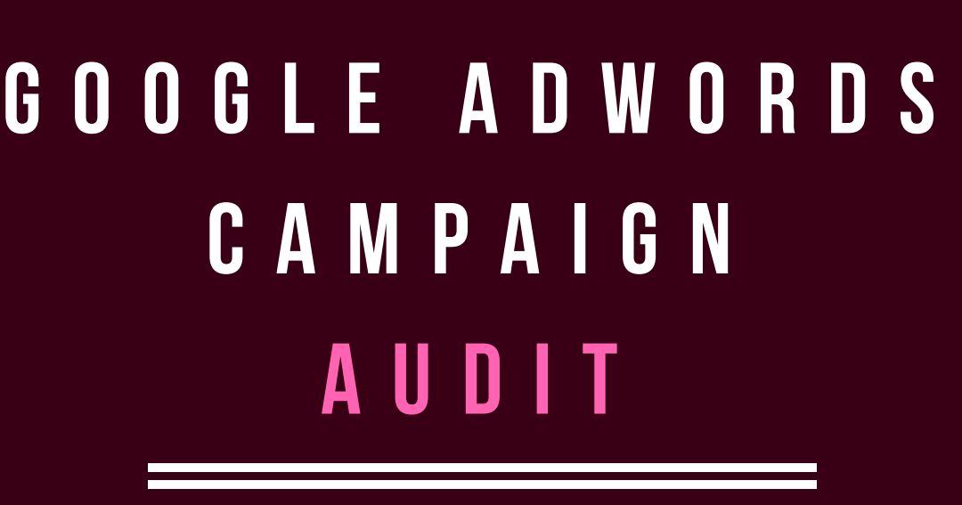 Adwords Audit Template PDF