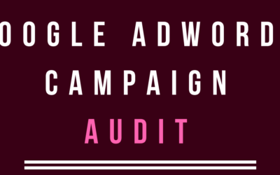 Adwords Audit Template PDF