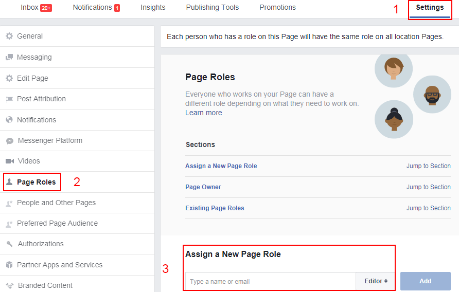 facebook manager permission