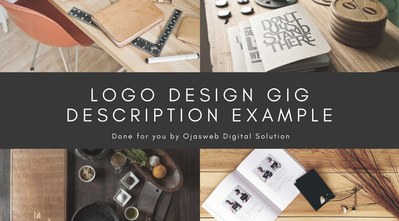 Logo Design Gig Description Example